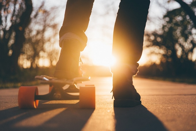Iridize training goals | stock skateboard