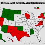 Study Ranks U.S. States with the Best and Worst Customer Service in 2013
