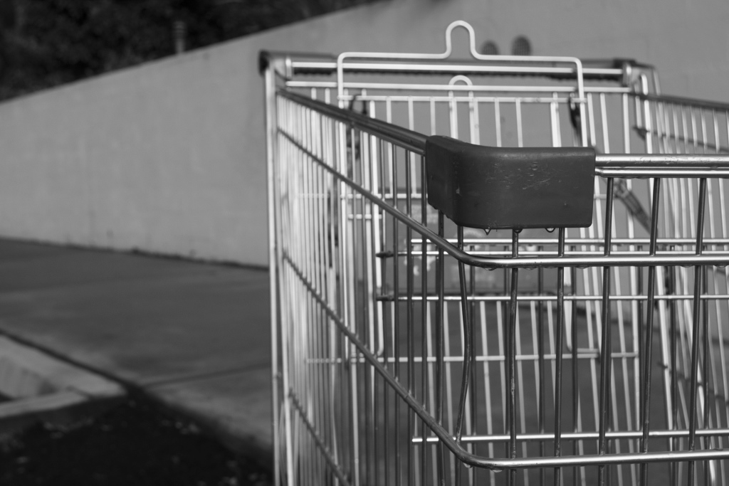 The melancholy of an abandoned cart