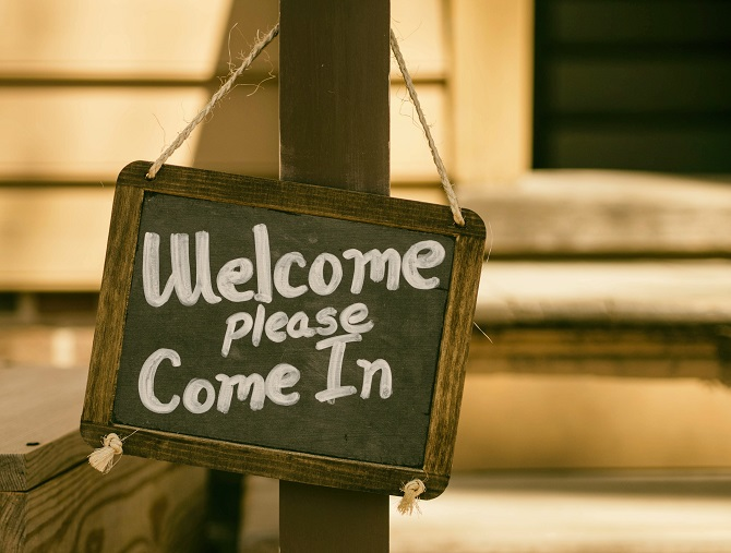 welcome sign training tools for onboarding new employees