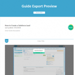 New Feature: Export Guide to PDF