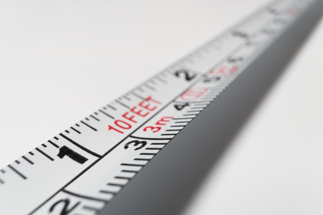 measurement tape - stock training metrics