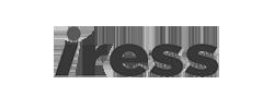 Iress logo b&w
