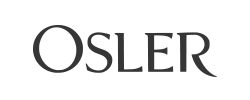 Osler logo b&w