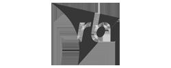 RB logo b&w